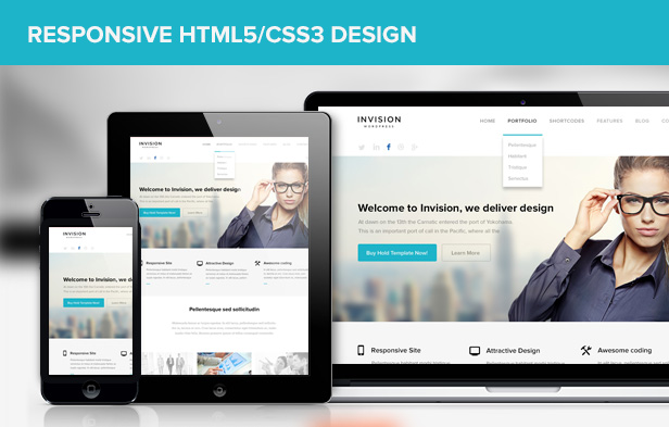 INVISION Responsive Corporate WP Theme